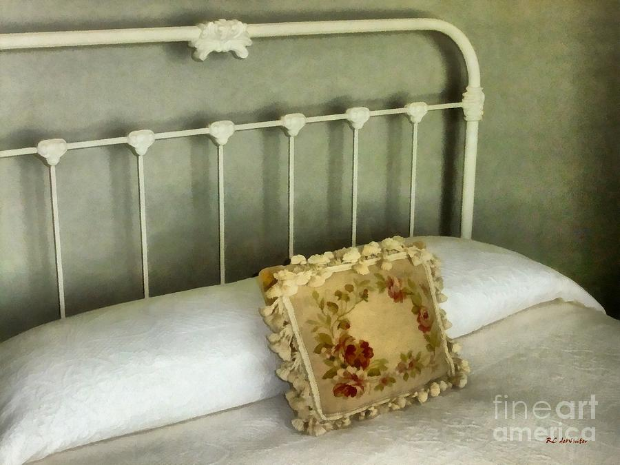 Bed Painting - Shadows In The Afternoon by RC DeWinter