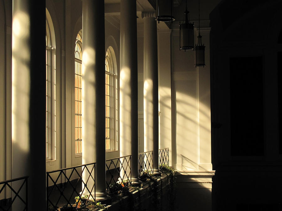 Window Photograph - Shadows Of Light by Laura Watts