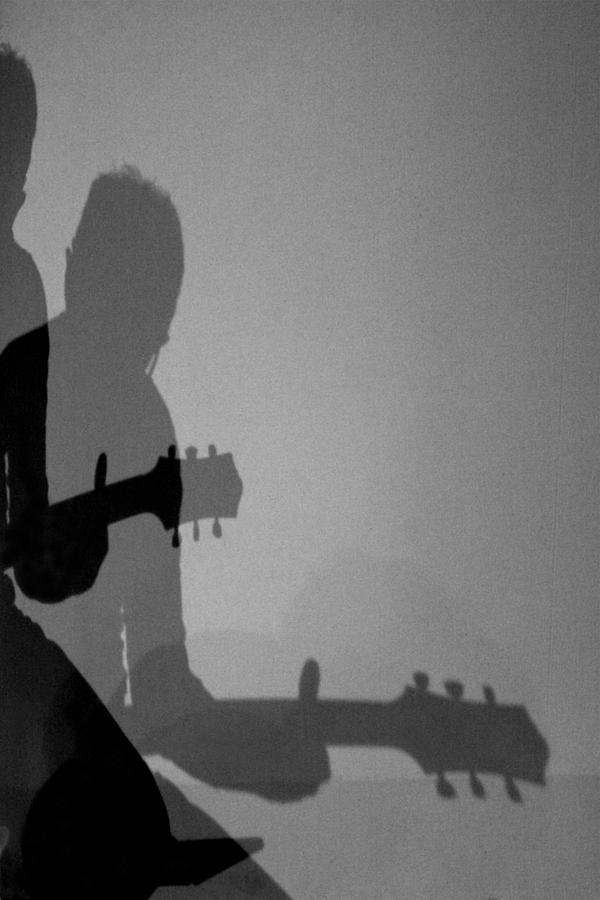 Guitar Photograph - Shadows Of Sound by Stefano Barni