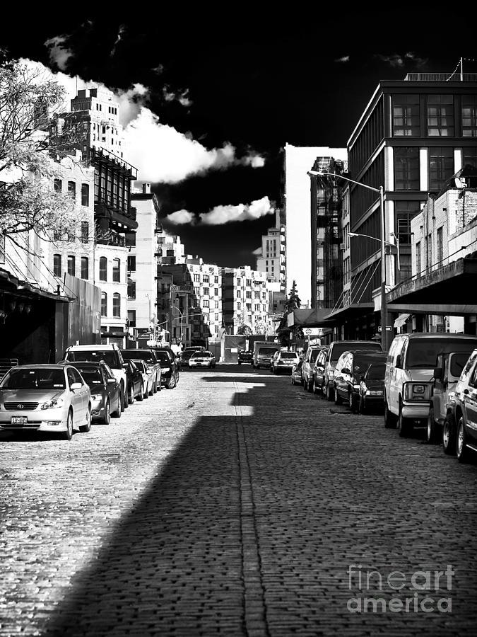 Shadows Photograph - Shadows On The Street by John Rizzuto