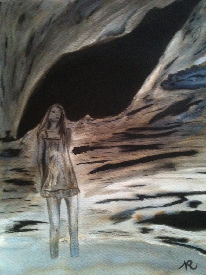 Surrealism Painting - Shadows Will Rise And Face The Wind by Nicla Rossini
