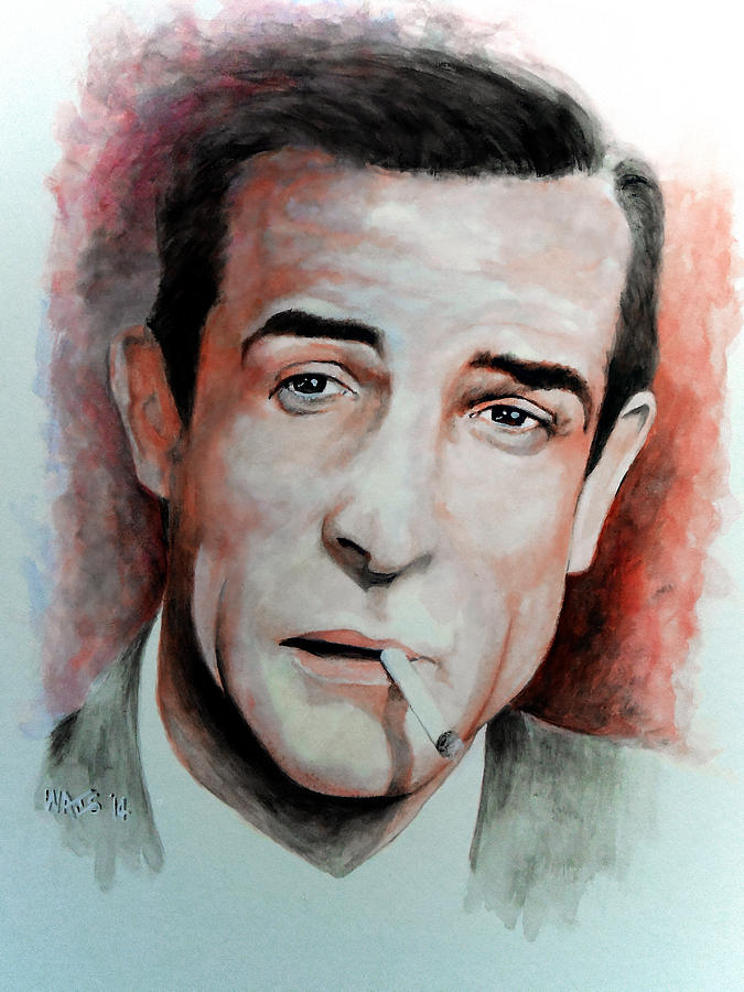 Connery Painting - Shaken Not Stirred by William Walts