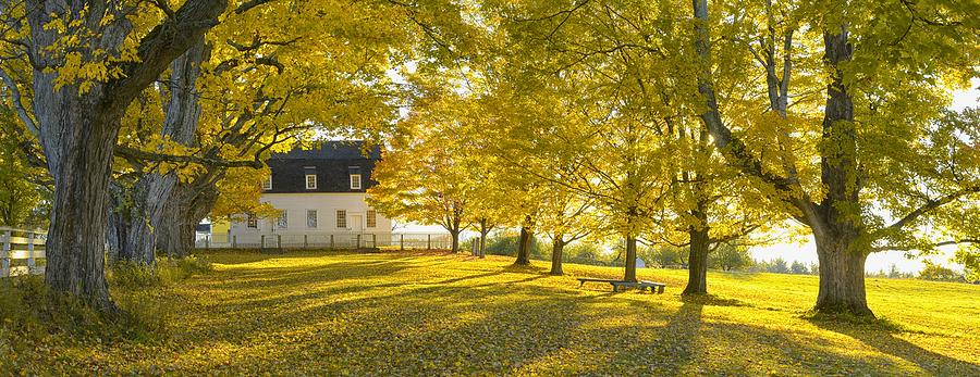 North America Photograph - Shaker Village by Christian Heeb