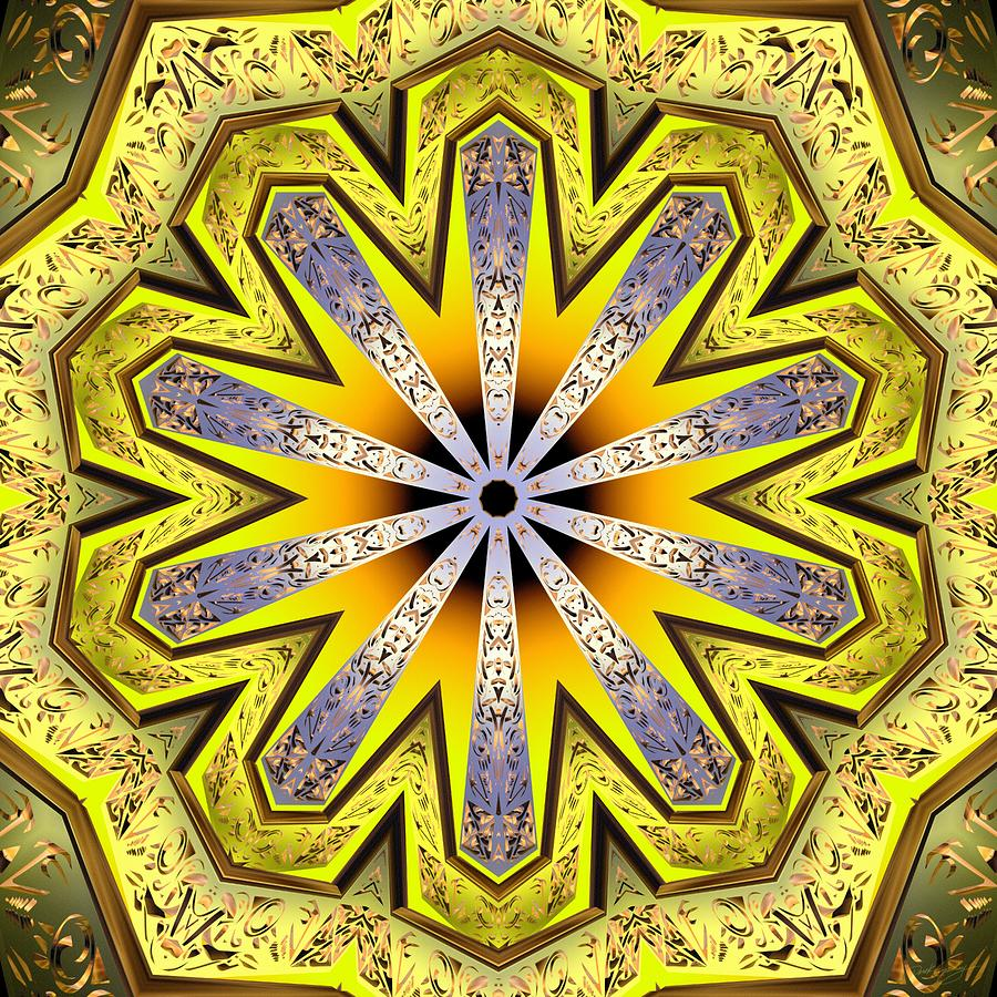 Sacredlife Mandalas Digital Art - Shamanic Dreams by Derek Gedney