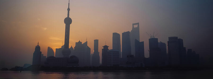 Shanghai In Early Morning Photograph by Xijia Cao