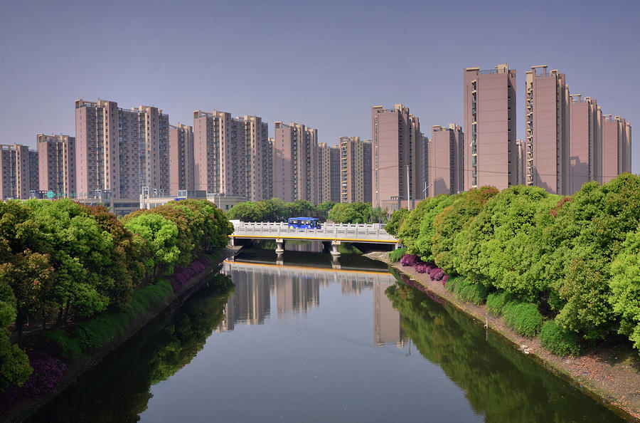 Shanghai - New Suburbia Photograph by Andy Brandl