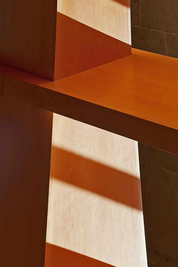 Shapes Photograph - Shapes And Shadows by Ernie Echols