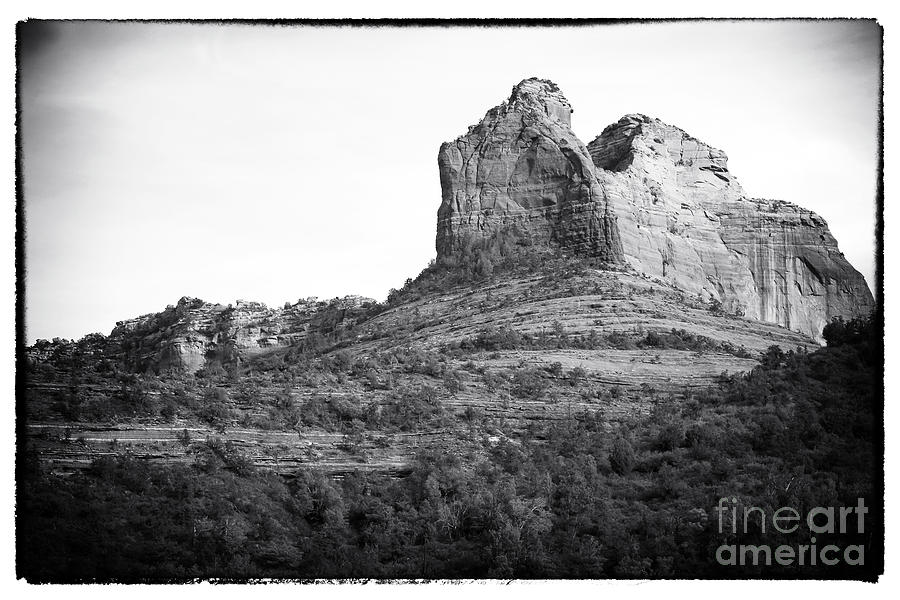 Shapes Of Oak Creek Canyon Photograph - Shapes Of Oak Creek Canyon by John Rizzuto