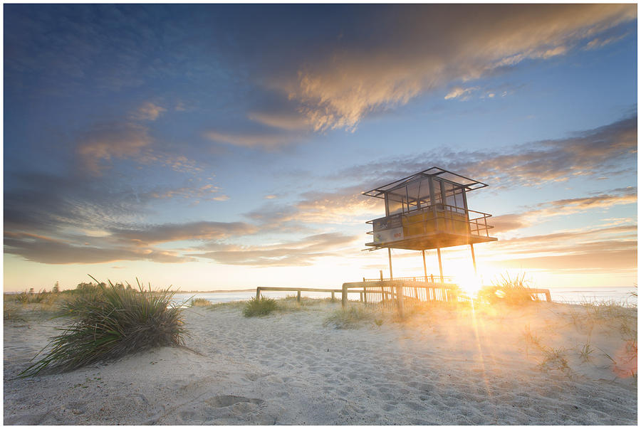 The Entrance Photograph - Shark Tower 2 by Steve Caldwell