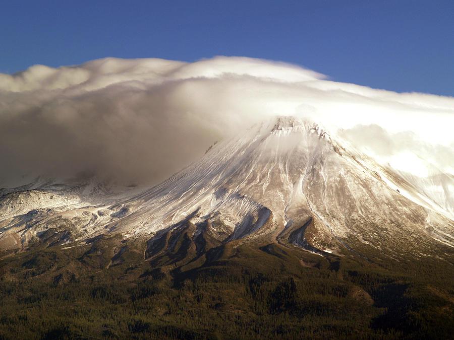 Mt Shasta Photograph - Shasta Storm by Bill Gallagher