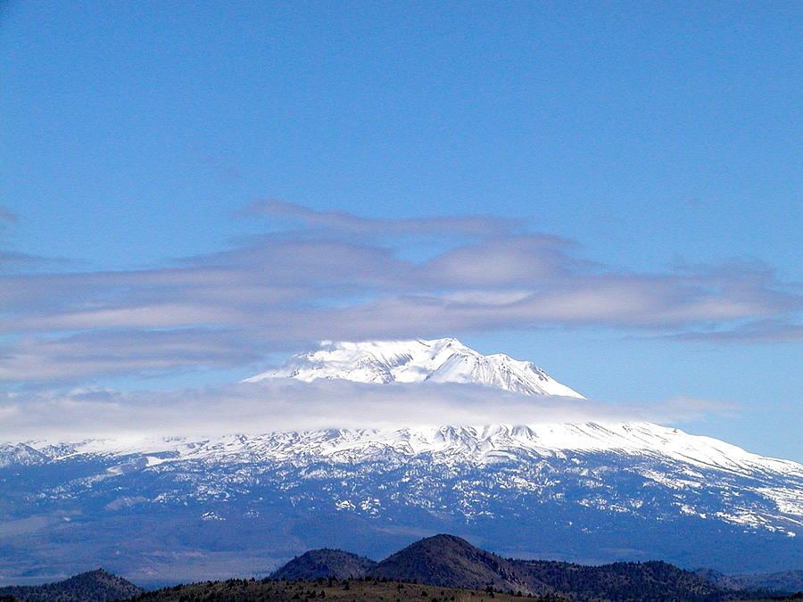 Nature Photograph - Shasta  by William McCoy