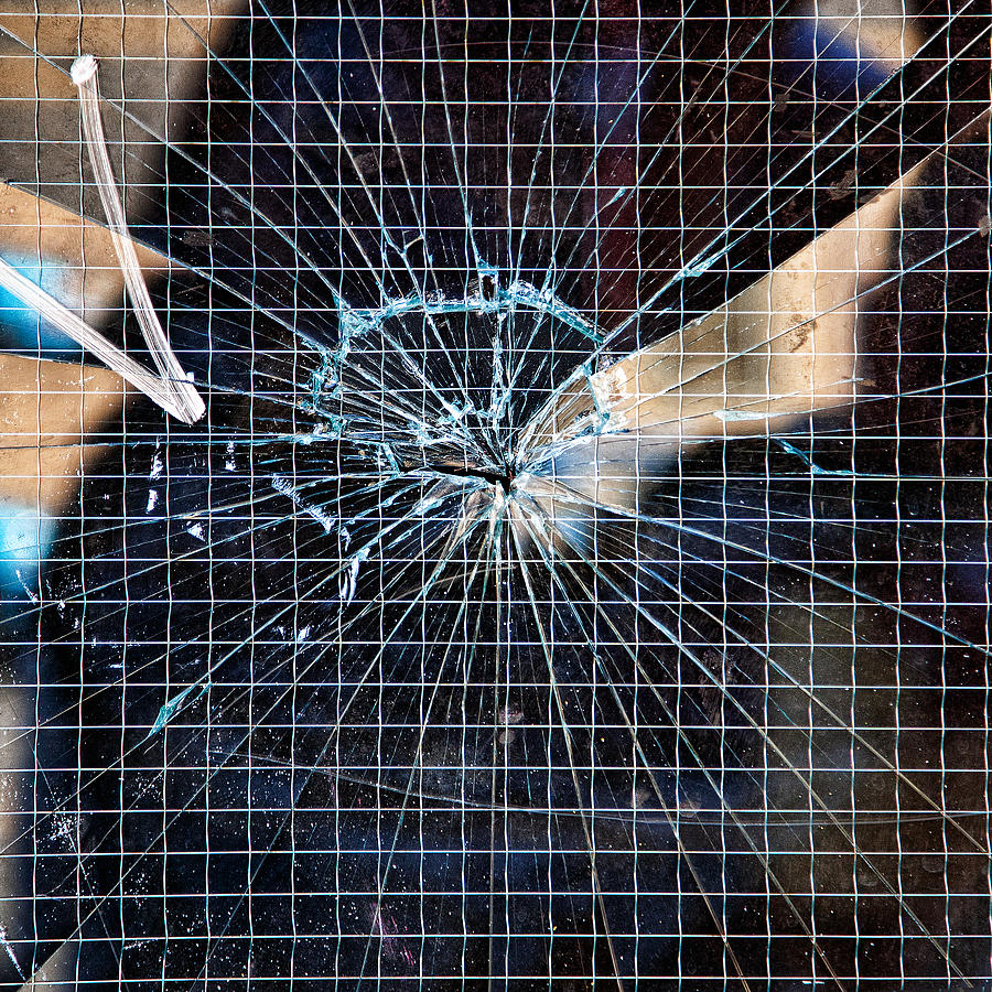 Architecture Photograph - Shattered But Not Broken by Peter Tellone
