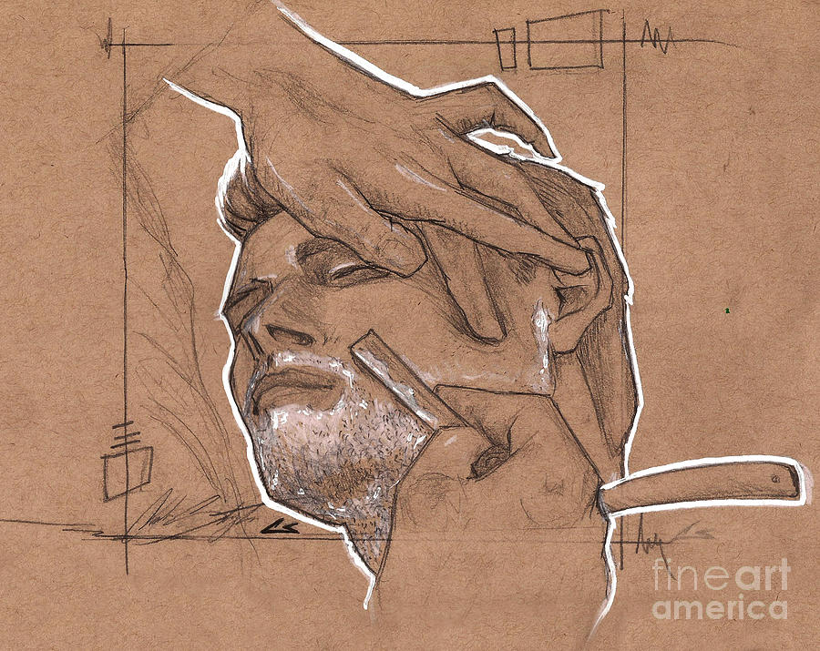 Shave Therapy Drawing