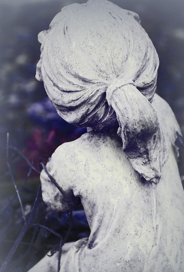Dreams Photograph - She Dreams Of Angels... by The Art Of Marilyn Ridoutt-Greene