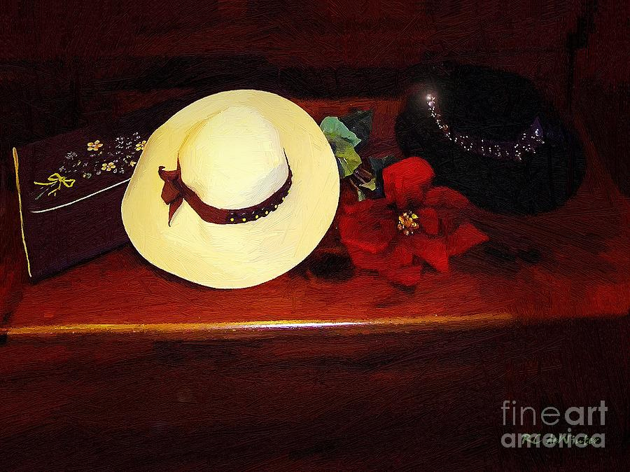 Hats Painting - She Loved Hats by RC DeWinter