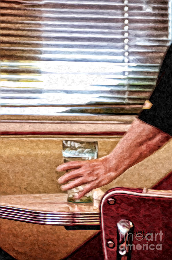 Diner Photograph - She Works Hard For The Money by Lois Bryan