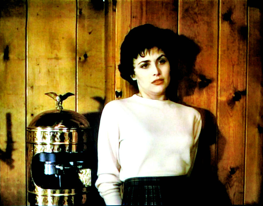 Laura Palmer Painting - Shed Been Murdered by Luis Ludzska