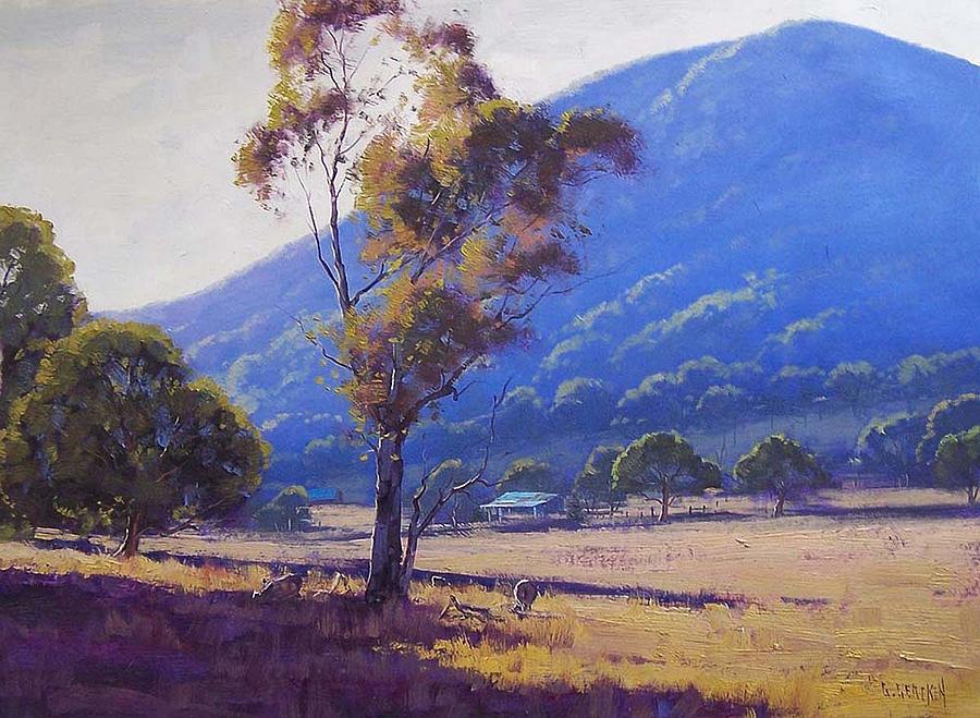 Sheep Farm Tarana Painting
