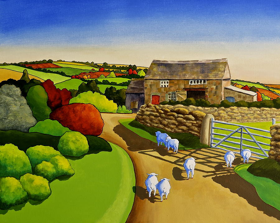Sheep Tails by Jo Appleby