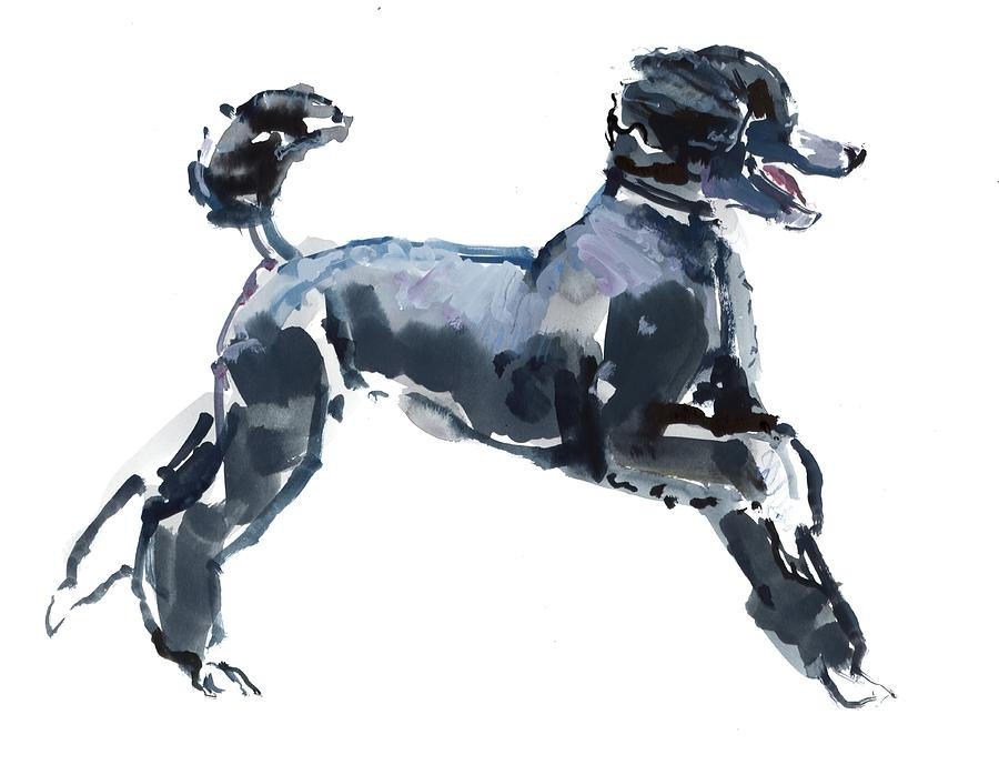 Dog Painting - Sheer Class by Mark Adlington