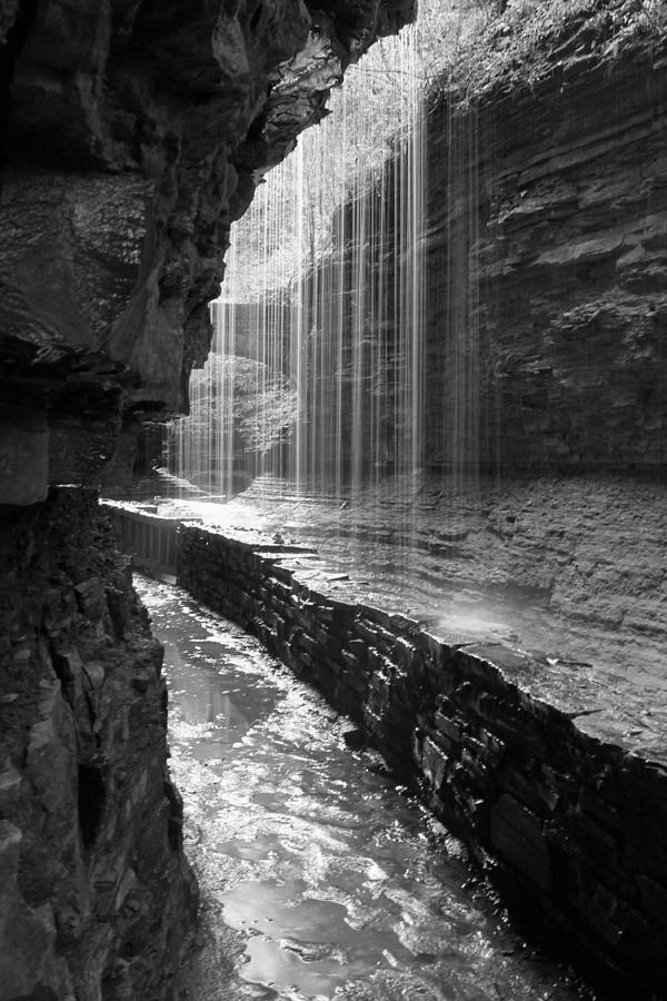Watkins Glen State Park Photograph - Sheer Elegance by J Allen