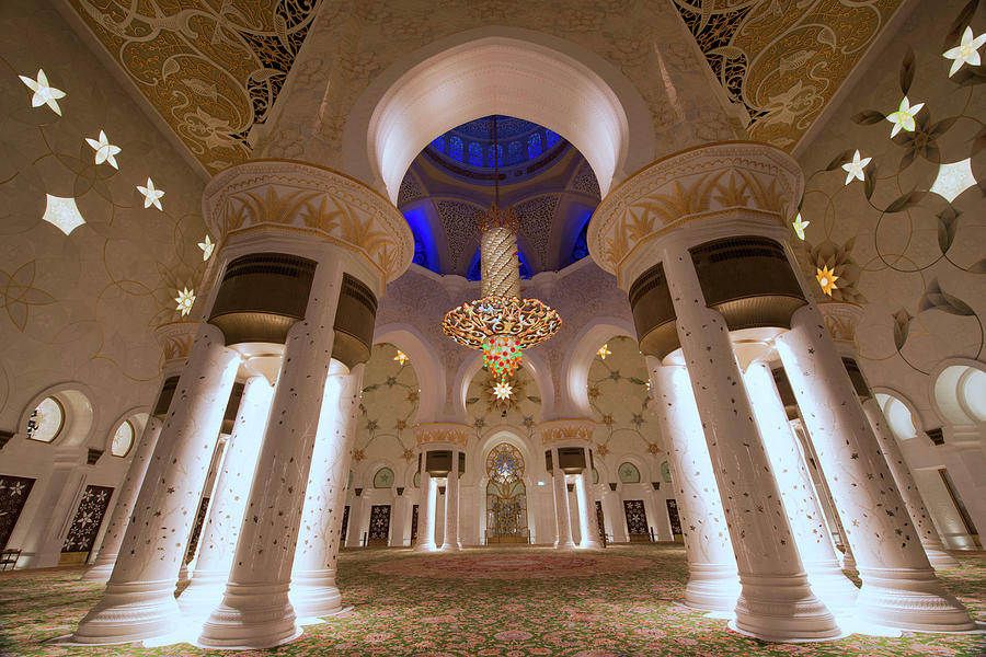 Sheikh Zayed Grand Mosque Photograph by Dany Eid Photography