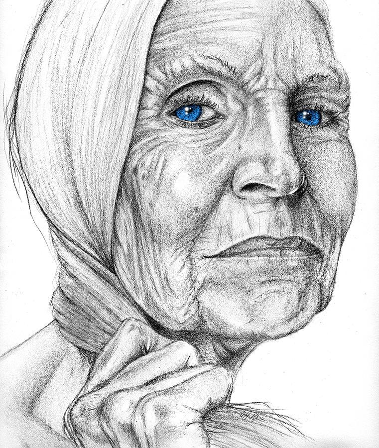 Shekinah Drawing - Shekinah by Penny Collins