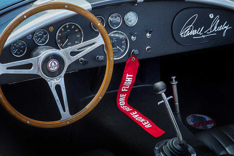 Car Photograph - Shelby Cobra by Bill Wakeley