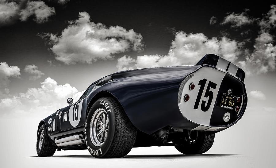 Shelby Digital Art - Shelby Daytona by Douglas Pittman
