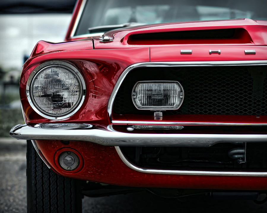1968 Photograph - Shelby Mustang by Gordon Dean II