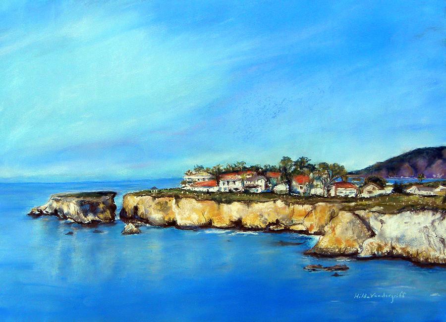 Shell Beach California by Hilda Vandergriff
