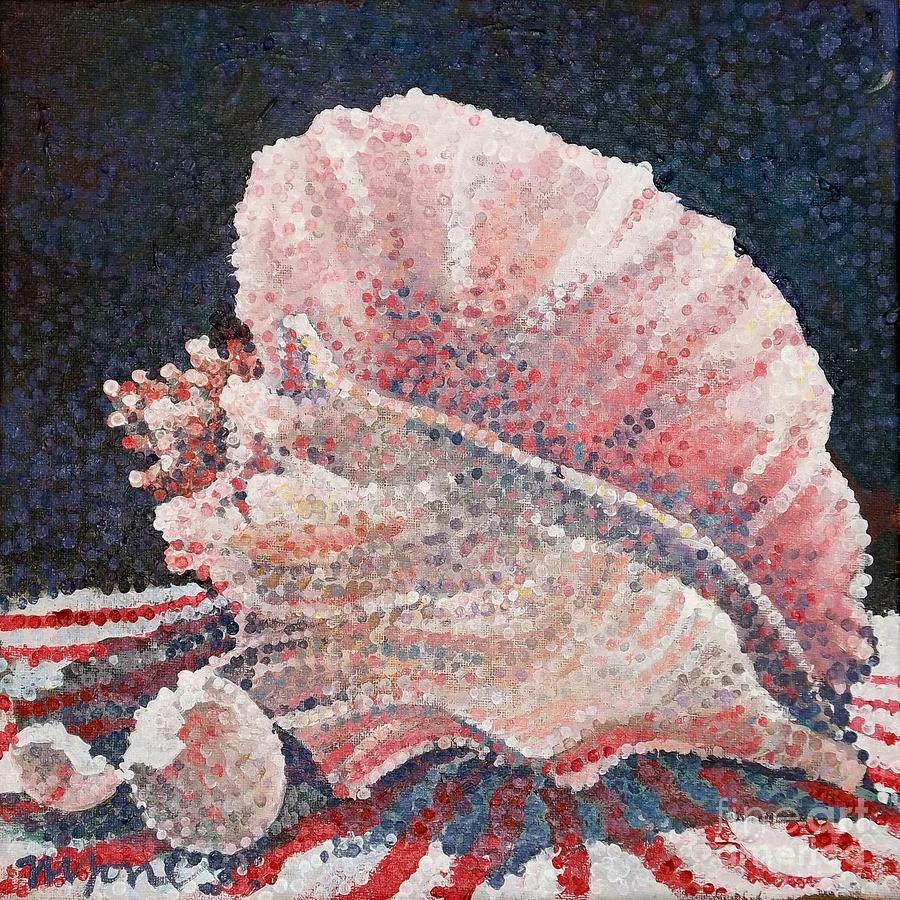 Shells Painting - Shell Collection by Micheal Jones