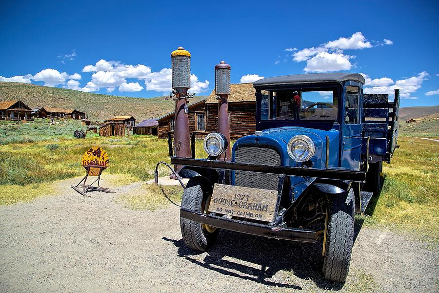 Shell Station in Bodie by Joseph Urbaszewski