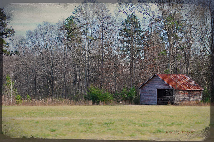 Feature Photograph - Shelter In The Midle Of Nowhere by Paulette B Wright
