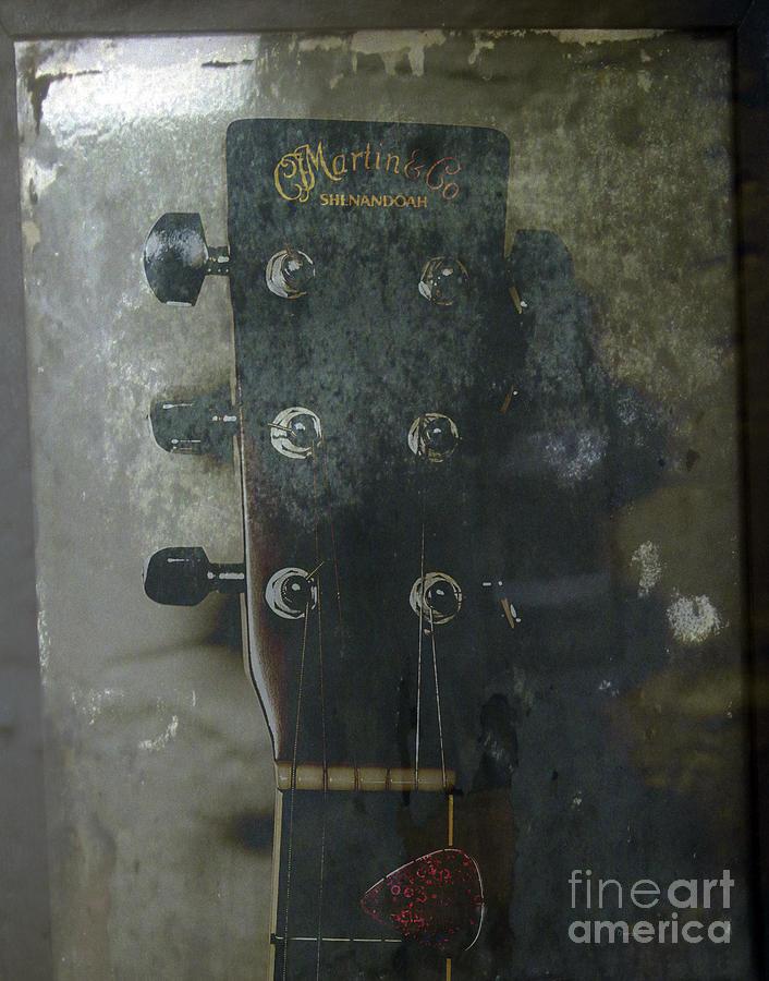 Guitar Photograph - Shenandoah  by Steven Digman
