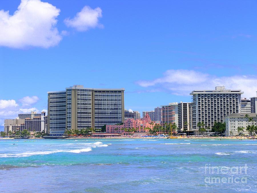 Sheraton And Royal Hawaiian View Photograph