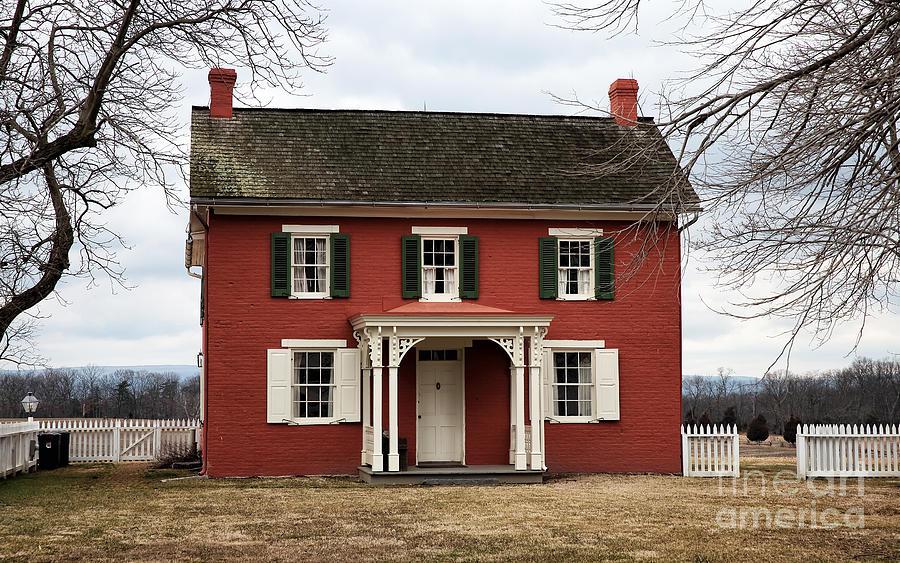 House Photograph - Sherfy House by John Rizzuto