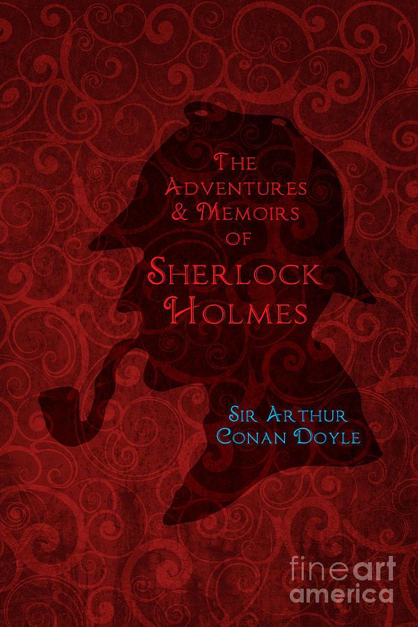 Sherlock Holmes Book Cover Art : Sherlock holmes book cover poster art digital by