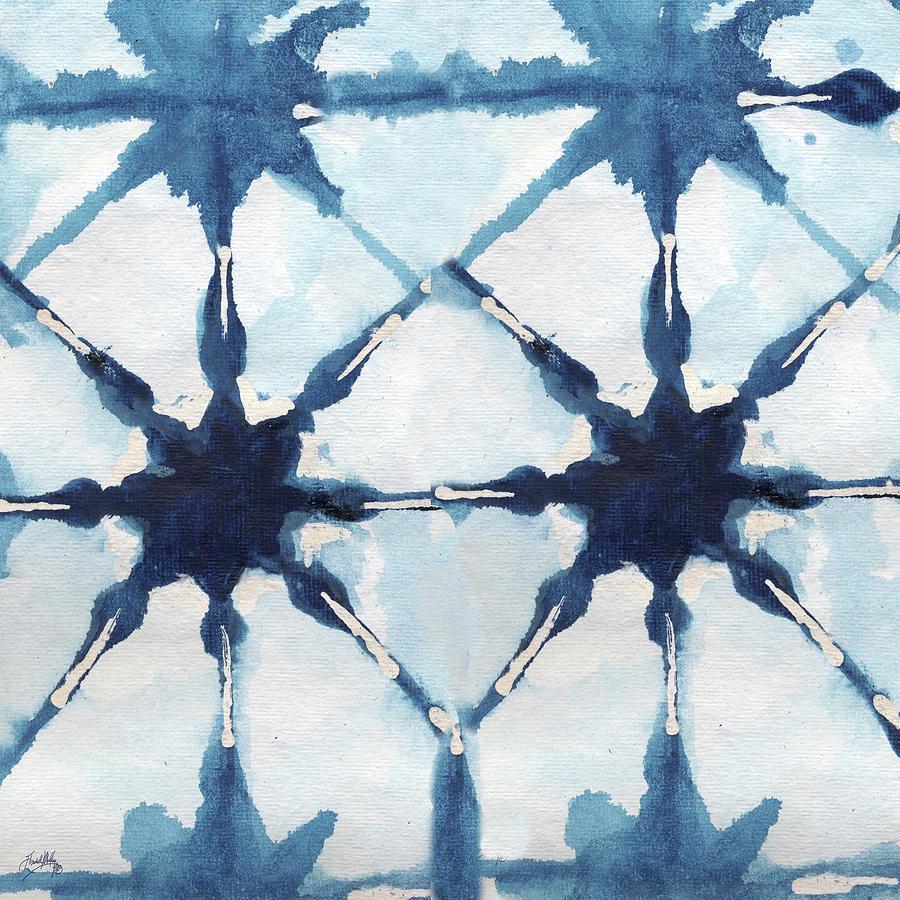 Shibori Digital Art - Shibori II by Elizabeth Medley