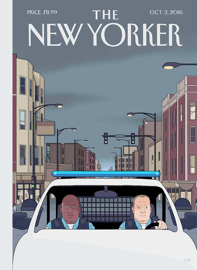 Shift Painting by Chris Ware