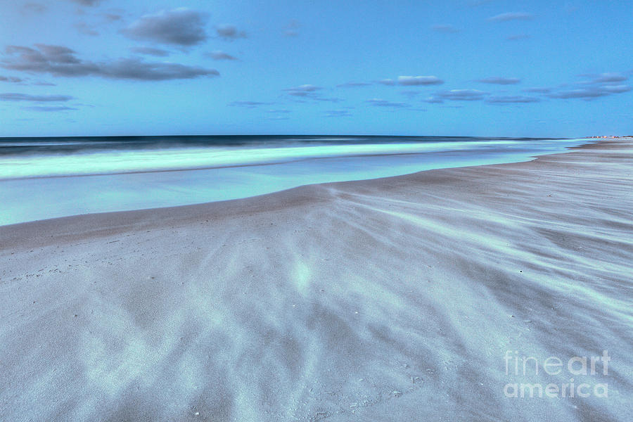 Pier Photograph - Shifting Sands On Frisco Beach Outer Banks I by Dan Carmichael