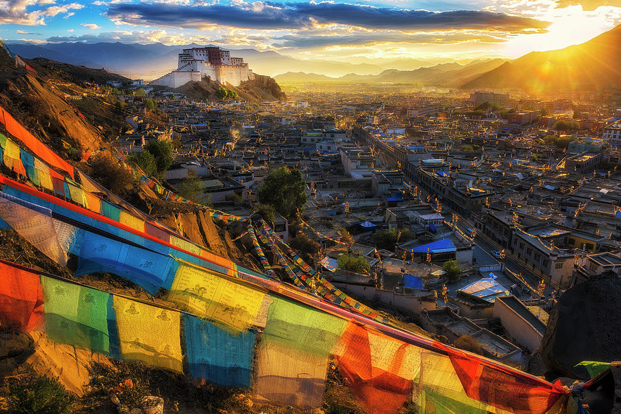 Shigatse Monastery Photograph by Ratnakorn Piyasirisorost