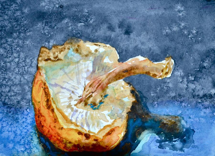 Mushroom Painting - Shiitake by Beverley Harper Tinsley