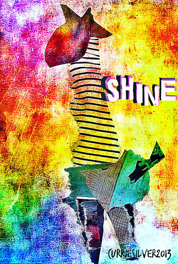 Shine Digital Art by Currie Silver