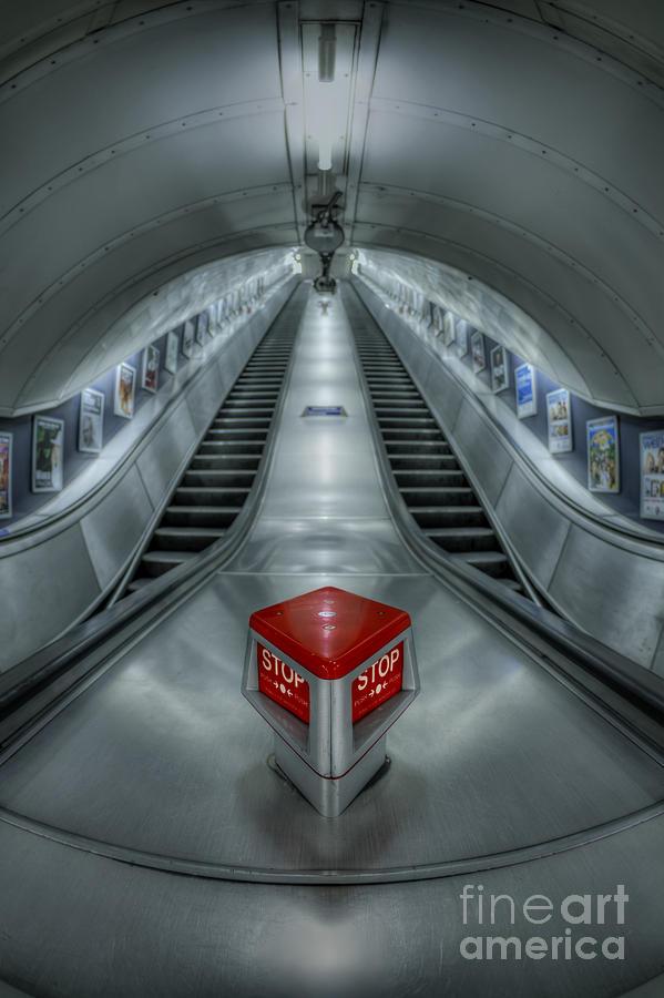 London Photograph - Shine In Silver by Evelina Kremsdorf
