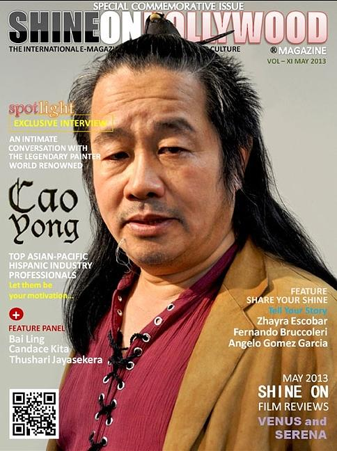 Shine On Hollywood Magazine Cover Photograph by Cao Yong