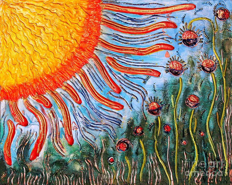 Sun Painting - Shine On Me.. by Jolanta Anna Karolska