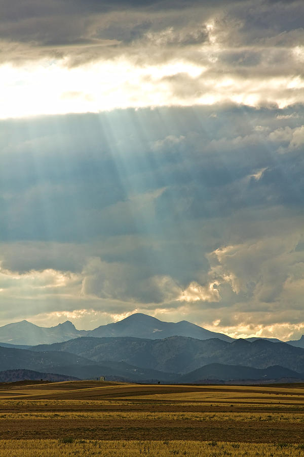 Light Photograph - Shining Down by James BO  Insogna
