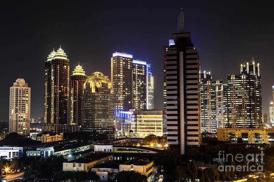 Indonesia Photograph - Shining Jakarta by Asiadreamphoto
