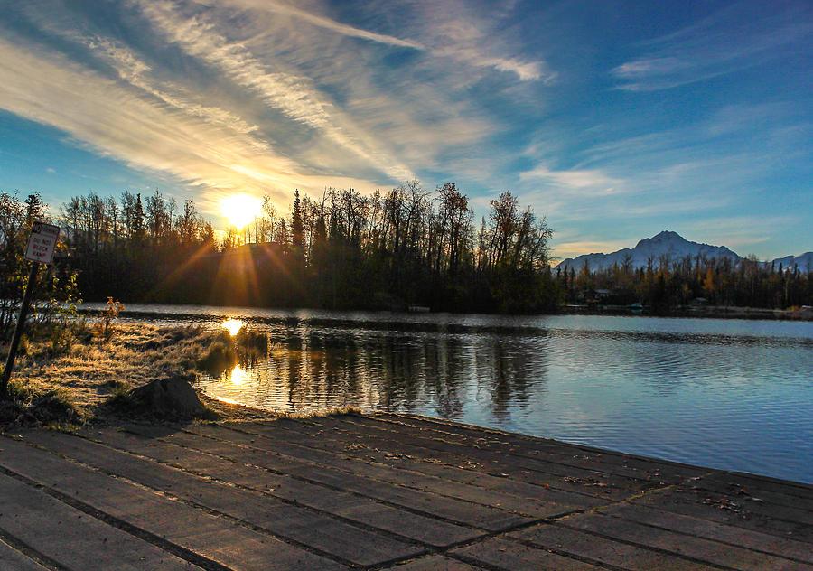 Landscape Photograph - Shining Sunrise by Tyler Olson
